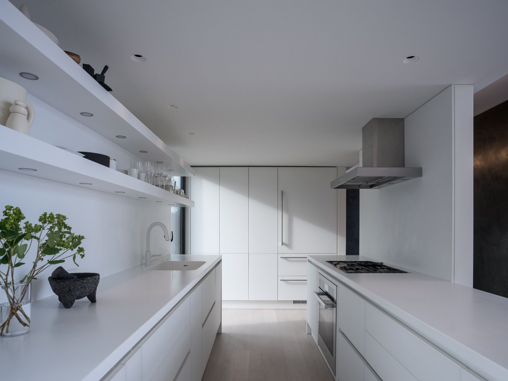 Kitchen clean modern