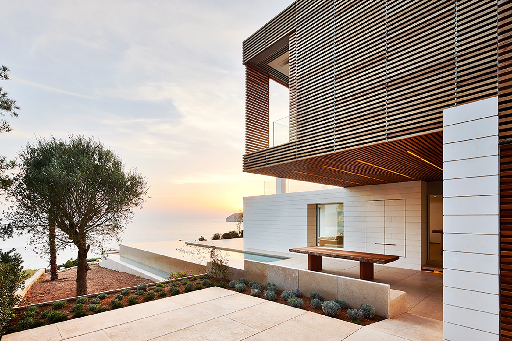 Mallorca Spain Modern House Ocean View