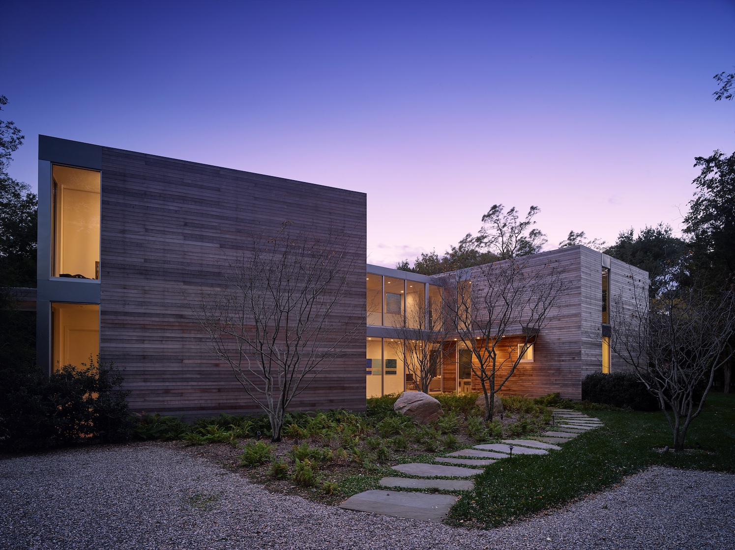 SLR Architects Sag Harbor Modern Residence
