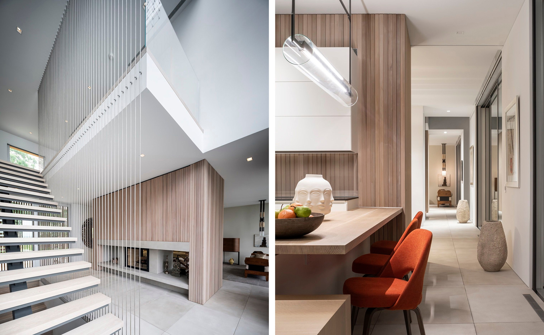 SLR Architects House On The Bluff Modern Interior