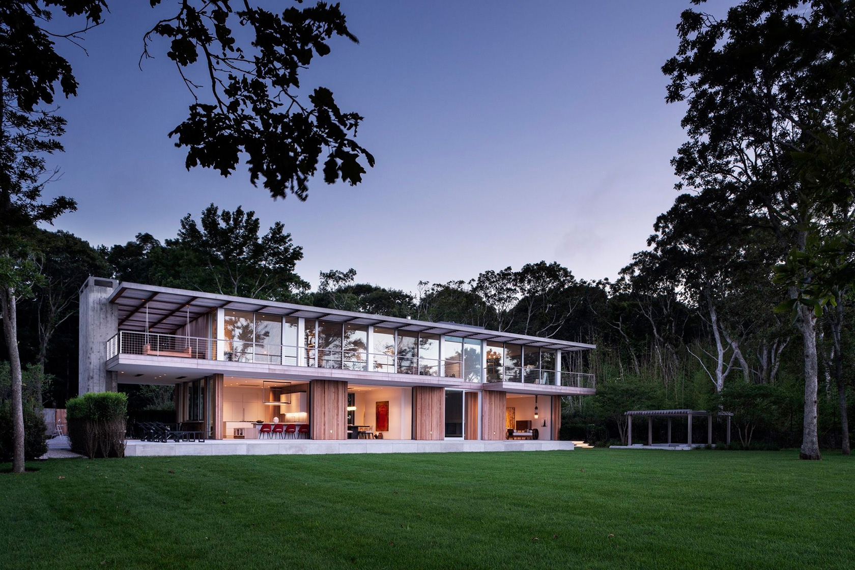 SLR Architects House On The Bluff Modern Exterior