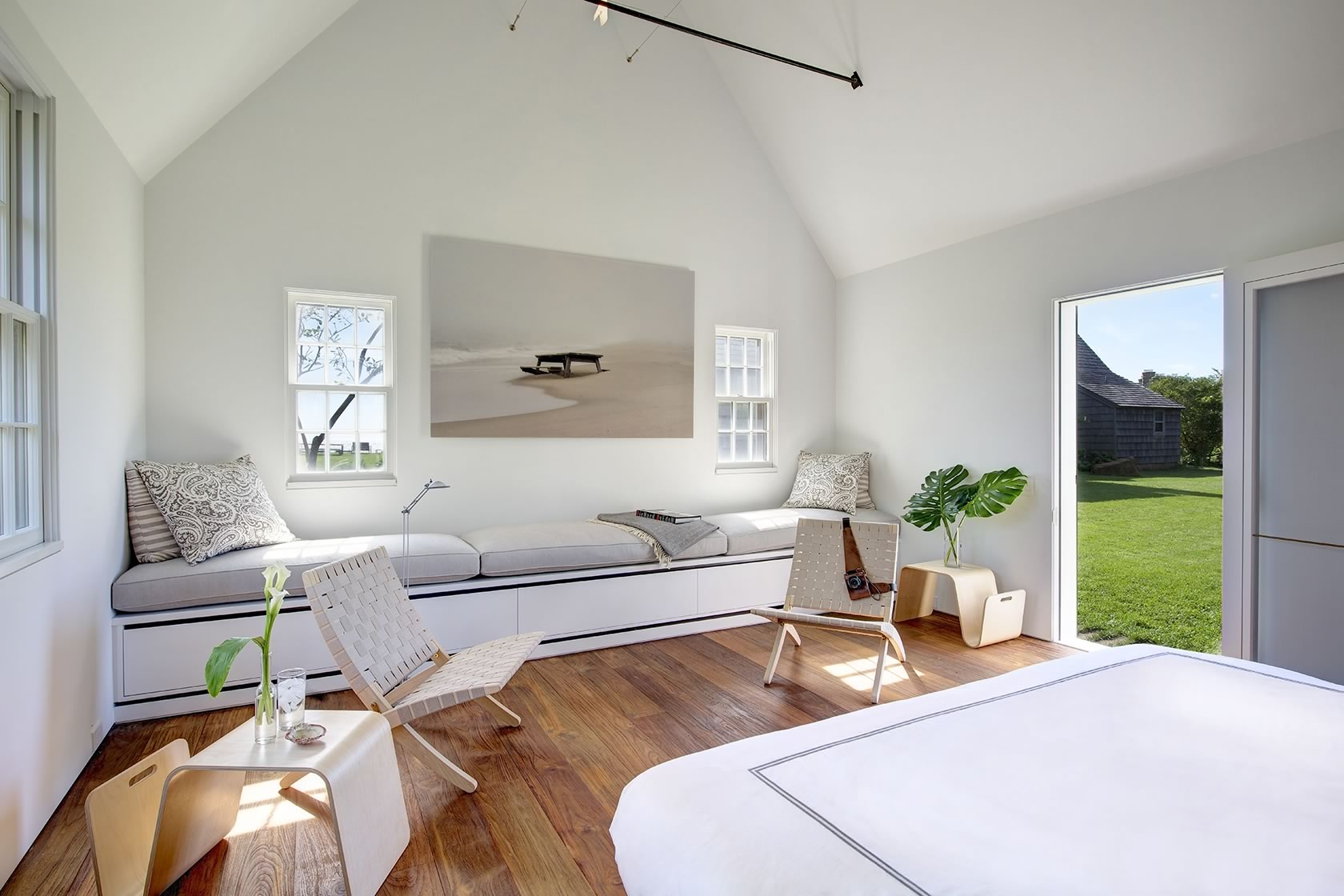 Montauk NY Modern Interior Design Cottage